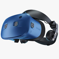 3D htc vive cosmos headset