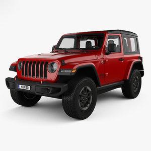 3D jeep wrangler rubicon