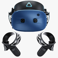 HTC Vive Cosmos Virtual Reality System 2019