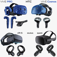 Collection Virtual Reality Systems 2019