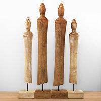 3D wood sculpture buddha decor