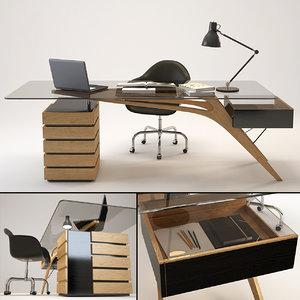 3D desk cavour