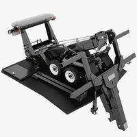 tow truck mechanism 3D