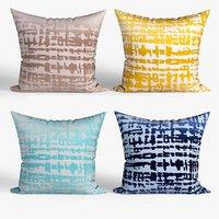 decorative pillows set 063 3D model