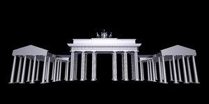 brandenburg gate model