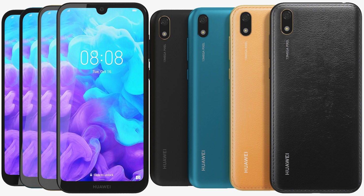 Huawei Y5 2019 All Colors