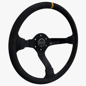 sparco r325 steering wheel 3D