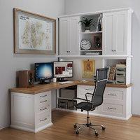 Classic desktop in white