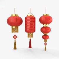 chinese lantern 3D