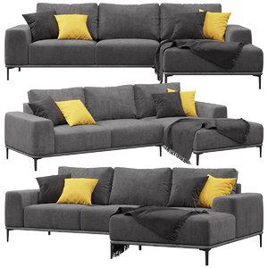 eichholtz montado sofa 3D model