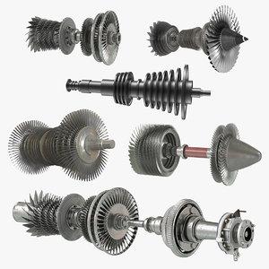 turbines 3 3D model
