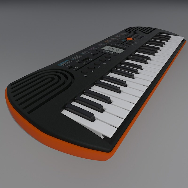 3D electronic kids model