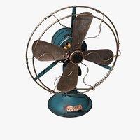 old fan 3D model