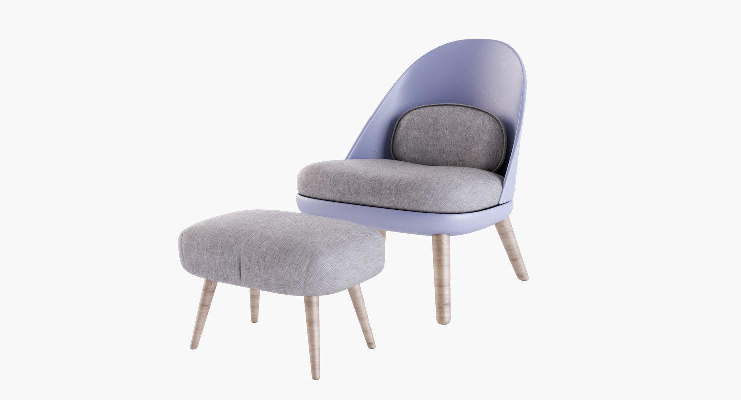 3D model joanna chair