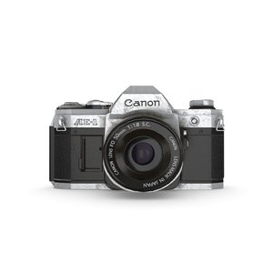 3D canon camera model