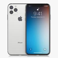 3D model apple iphone xi