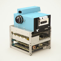 1975 Digital Camera Prototype by Eastman Kodak engineer Steven Sasson(1)