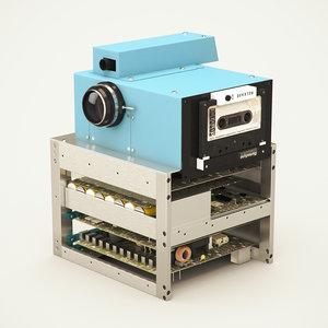 camera kodak digital 3D model