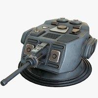 3D heavy kinetic cannon 1