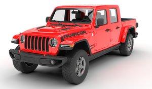 jeep gladiator rubicon 2020 model