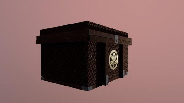 3D treasure asian model