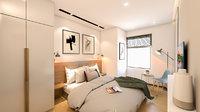 apartment bedroom interior 3D model