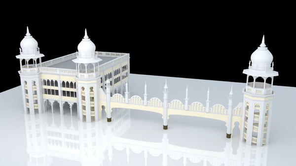 3D 3dmodel landmark kuala model