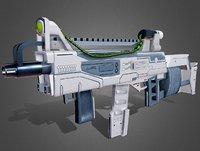 Futuristic Rifle