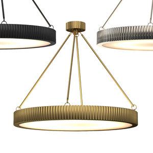 3D davenport chandelier 30