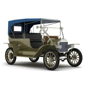 3D generic classic car model