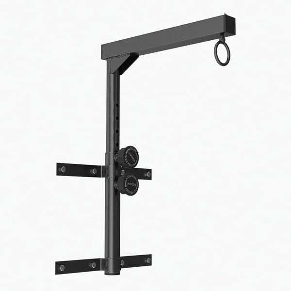 boxing bag wall mount model