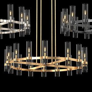 3D ravelle chandelier 48 rh