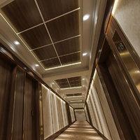 3D corridor interior