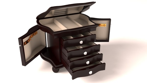 matt box 3D model