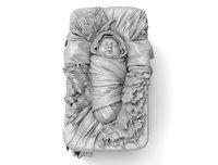 baby jesus christ crib 3D