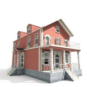 3D model residential house games