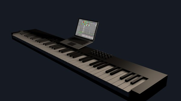 keyboard midi key model