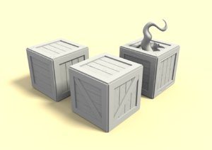 3D crate print dungeon