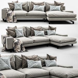 sofa minotti model