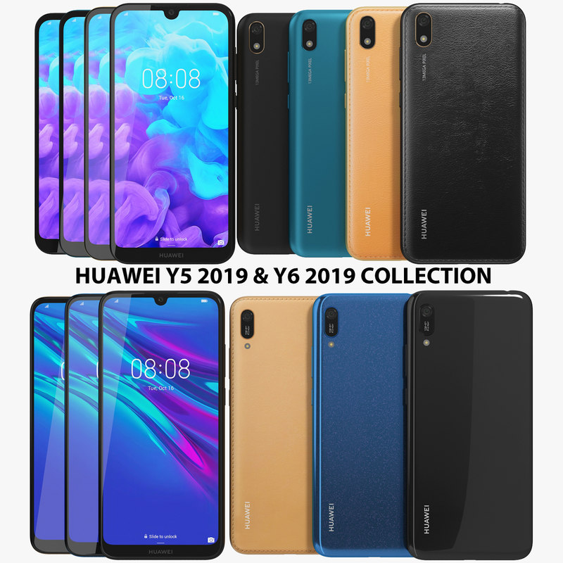 Huawei Y5 2019 & Y6 2019 Collection
