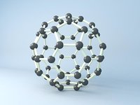3D model atom chemistry science