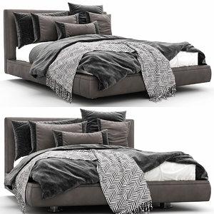 3D model bed richard