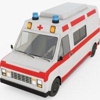 3D ambulance rig