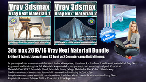 008 Vray Next 3ds max Materiali Volume 8 e 9