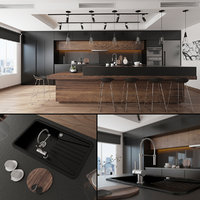 anthracite kitchen model