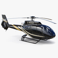 3D model airbus helicopter h130 -