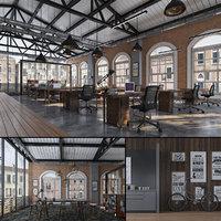 open office industrial 3D