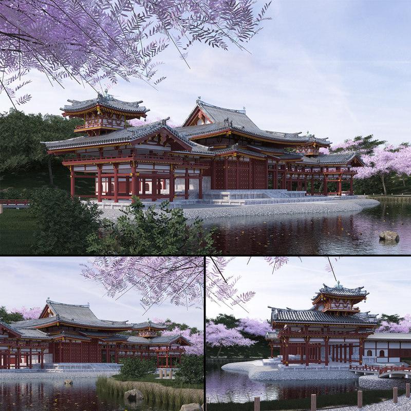 byodo-in temple model