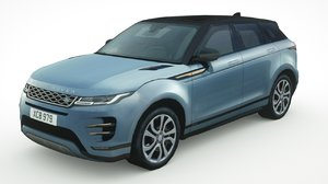 3D land rover velar model