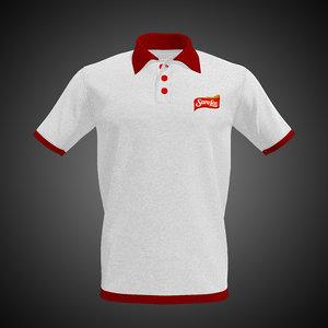 polo shirt model